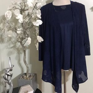 ALFRED DUNNER TOP & SWEATER